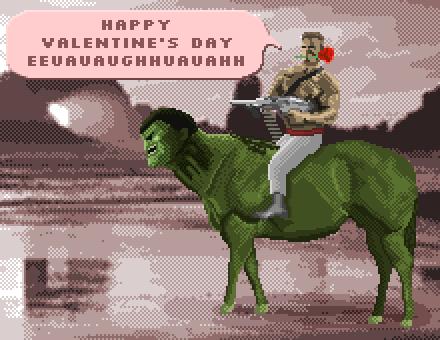 Arnold Riding Hulkotaur by gynlorf