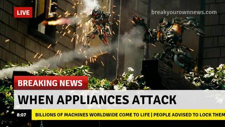 When Appliances Attack