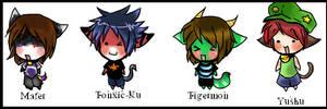 :ChibiGroup1:Just For Fun by EvilYuki-ku