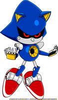 Classic Metal Sonic by Advert-man