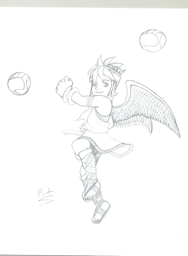 kid icarus by darnellbrice