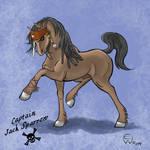 Jack Sparrow Horse