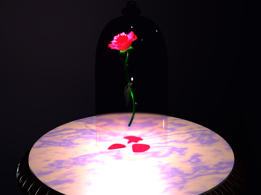 Beauty And The Beast Rose Wallpaper: Beauty And The Beast Rose By Shindeor On DeviantArt