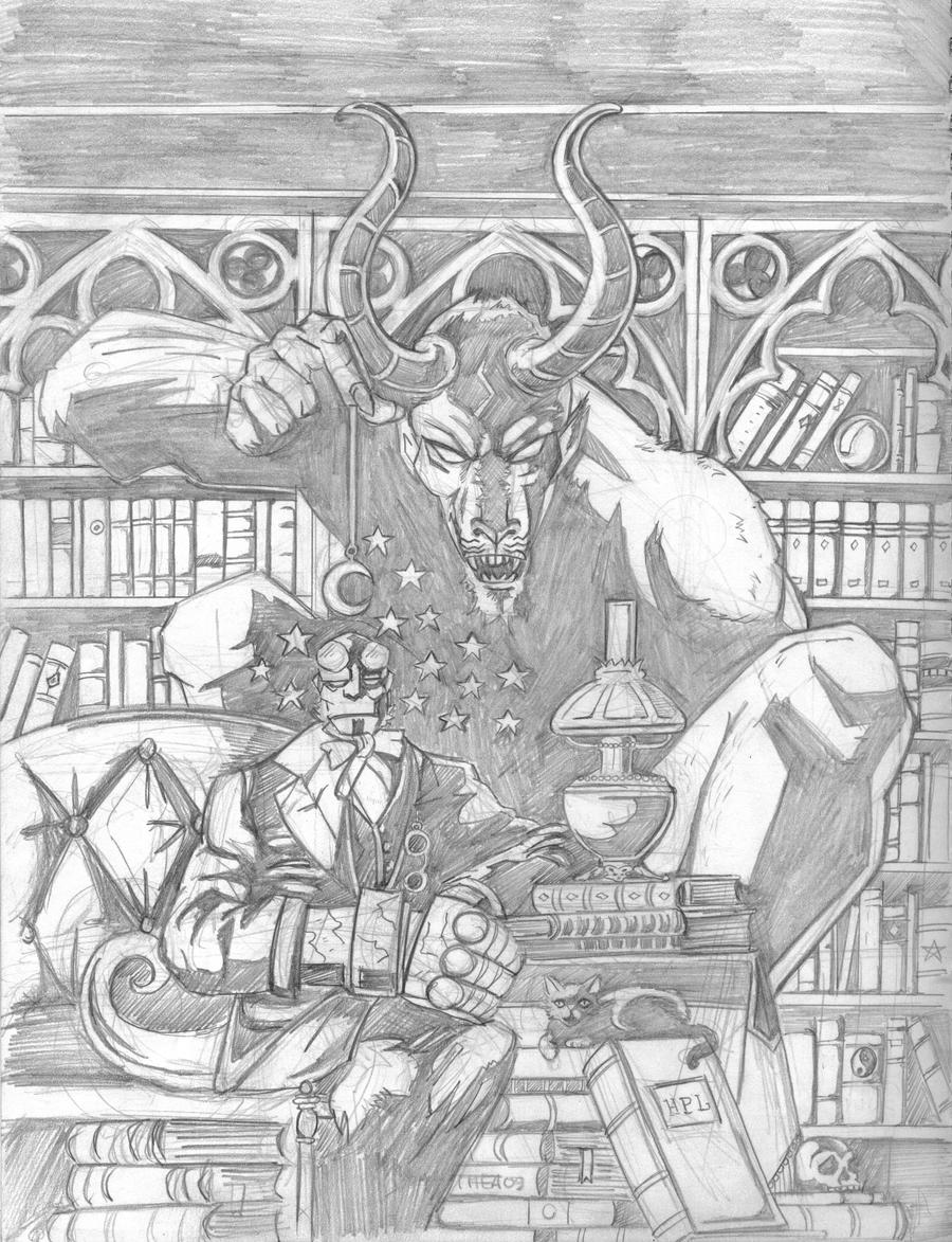 hellboy 5 by Theamat