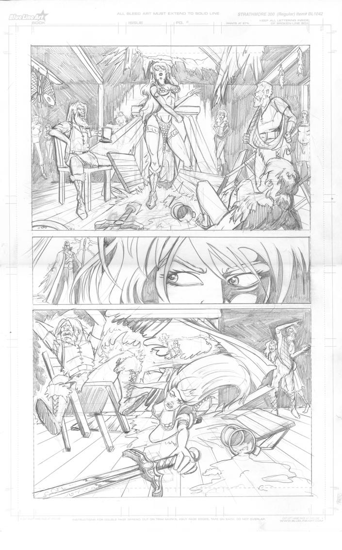 red Sonja pg3 by Theamat