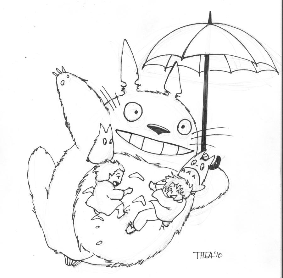 Totoro By Theamat On DeviantArt