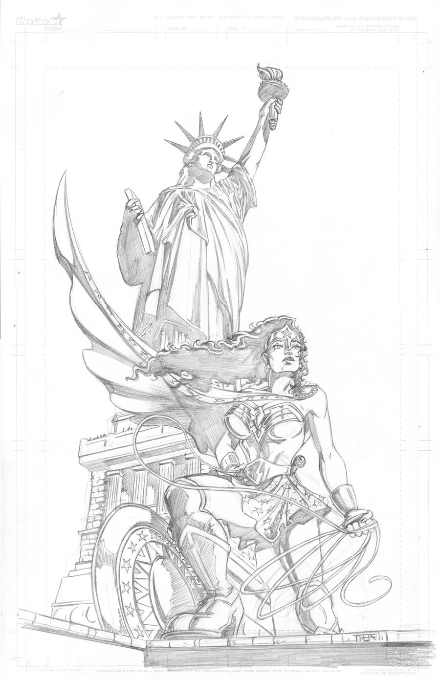 Wonder Woman - Liberty by Theamat