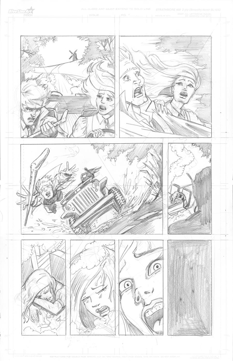 Thor Page 12 Pencils by Theamat
