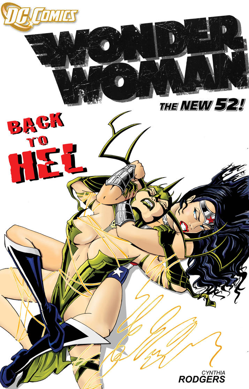 Wonder Woman VS Hela by Theamat