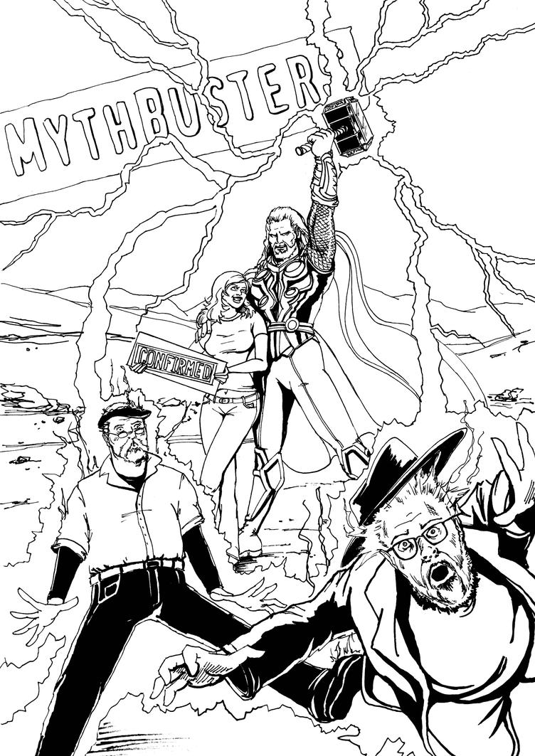 Thor: Myth Confirmed INKS by Theamat