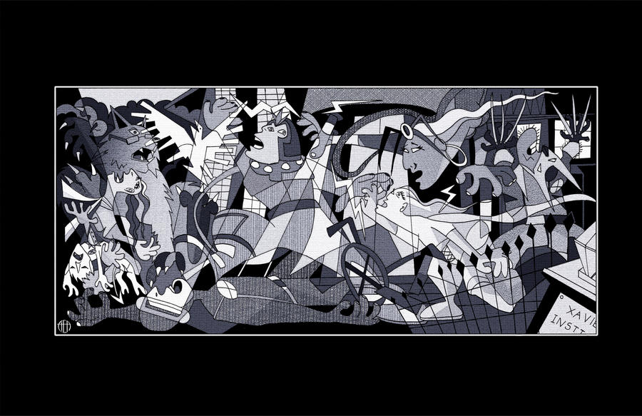 X-Men Guernica by Theamat