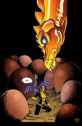 Kitty Pryde in the Dragonriders of Pern by Theamat