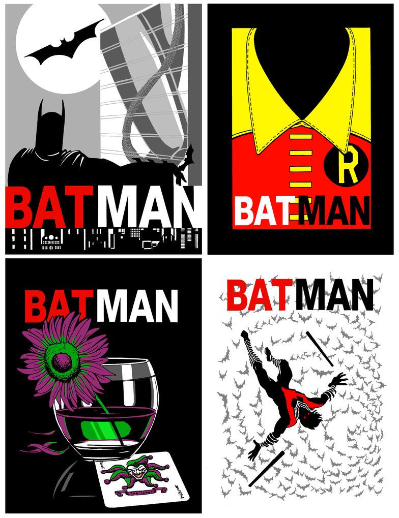 Batman/Mad Men by Theamat