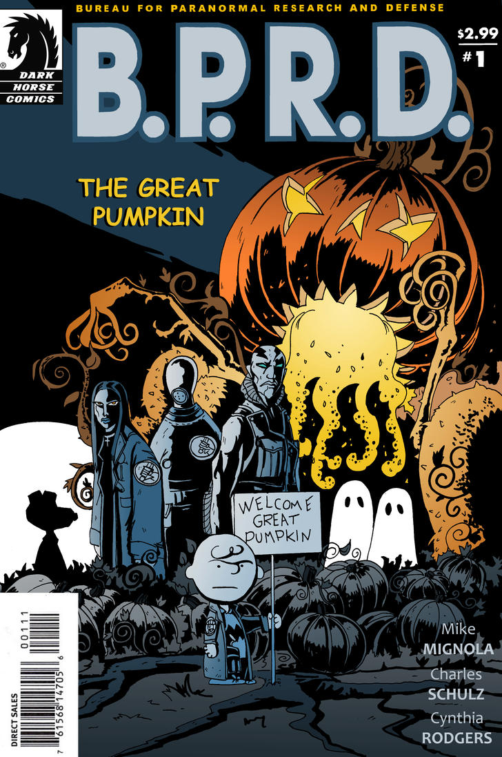 B.P.R.D.: The Great Pumpkin by Theamat