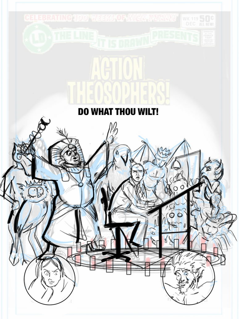 Action Theosophers - SKETCH by Theamat