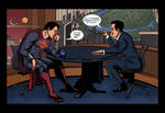 Stephen Colbert and the Man of Steel