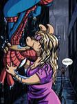 Spider-Ham and Miss Piggy