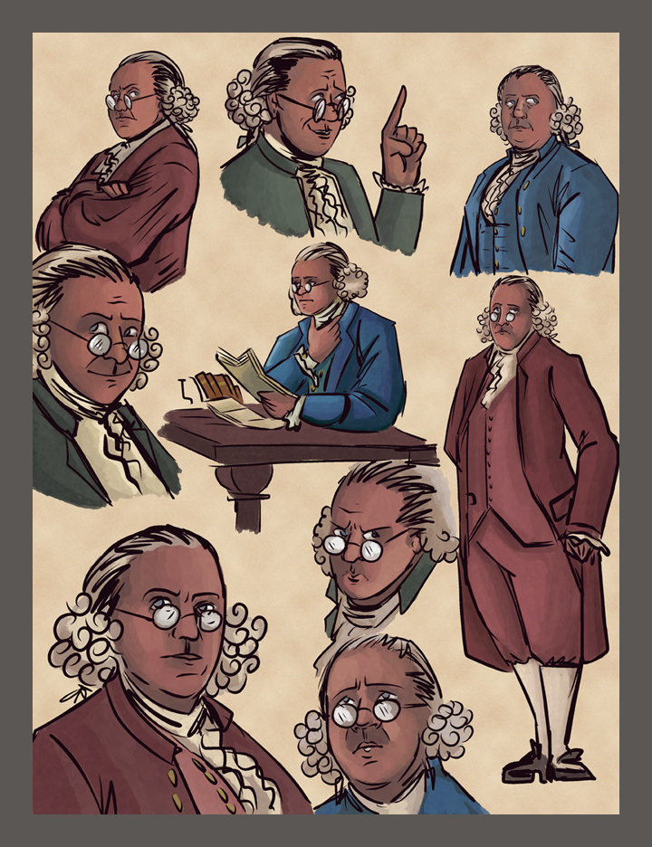 Tea Party: An American Story: Benjamin Franklin by Theamat