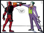 Deadpool Meets the Joker