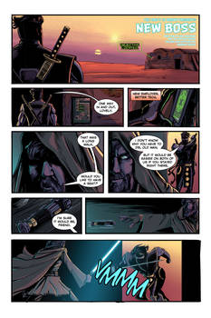 Ninjak and Obi-Wan Kenobi in: New Boss