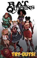 Harley Quinn and the Rat Queens