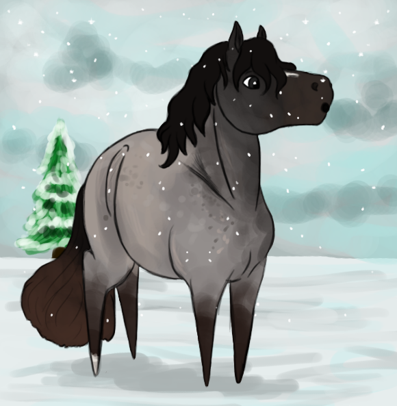 First Snow of the Year by gray-wolf-queen