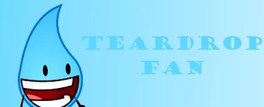 Teardrop Fan by Thegreenskyofbfdi