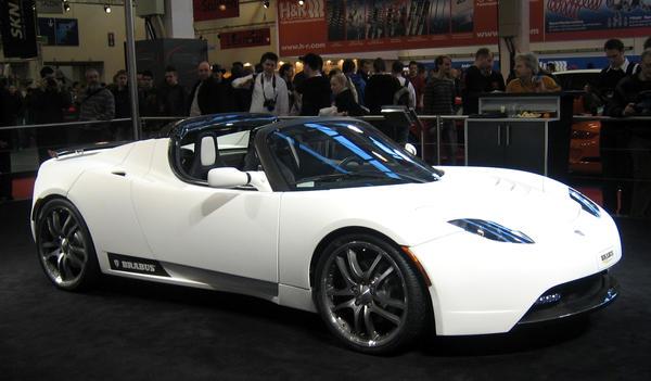 Tesla Roadster Brabus Gt By Toyonda On Deviantart