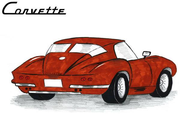 1963 Corvette Stingray C2 Special By Toyonda On Deviantart