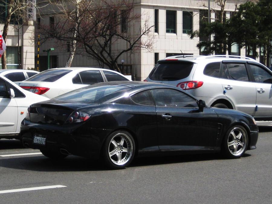 SWEET Tuned Hyundai Tuscani GT by ~toyonda on deviantART