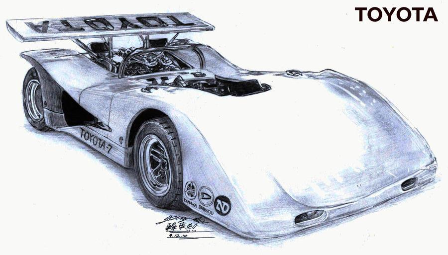 berto 39 s toyota 7 race car 1970 by toyonda on deviantart. Black Bedroom Furniture Sets. Home Design Ideas