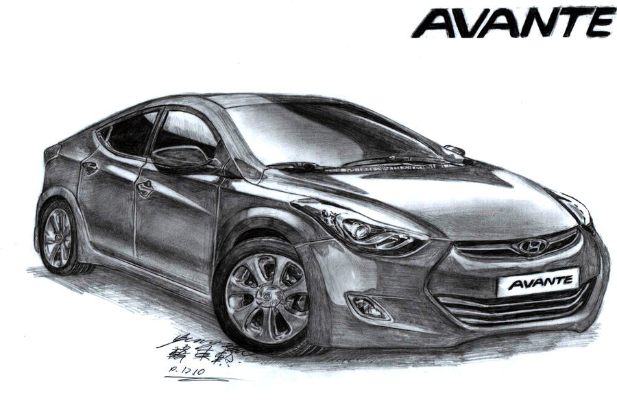 America\'s Car Of The Year 2012 and 2013 Drawing by toyonda on DeviantArt
