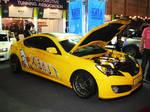 Hyundai Genesis Coupe Yellow