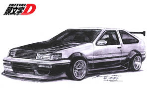 Toyota AE86 Corolla Levin RS