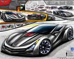 Corvette Trinity Supercar Design Concept