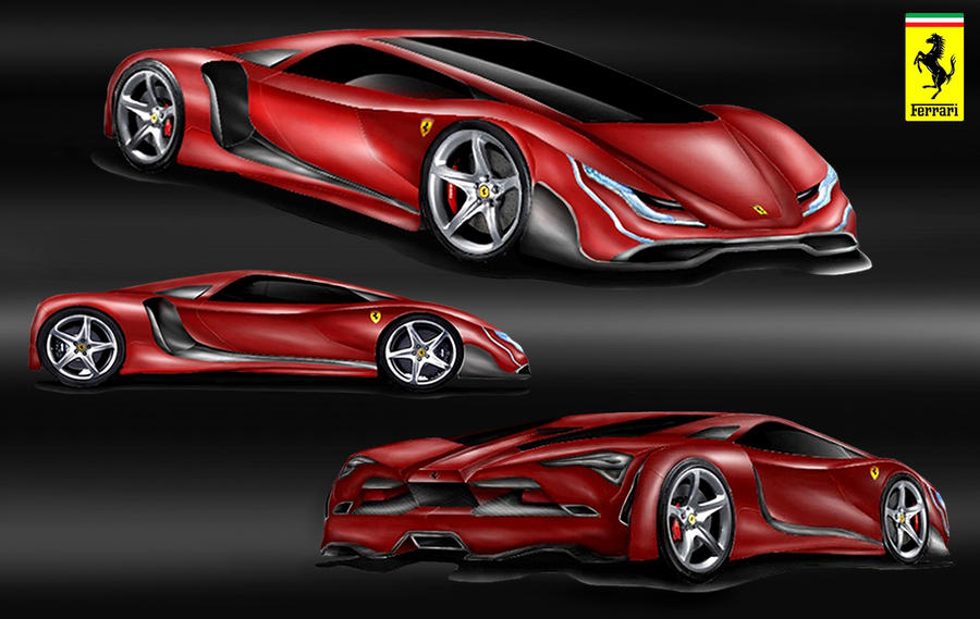Ferrari Supercar Design Concept by toyonda