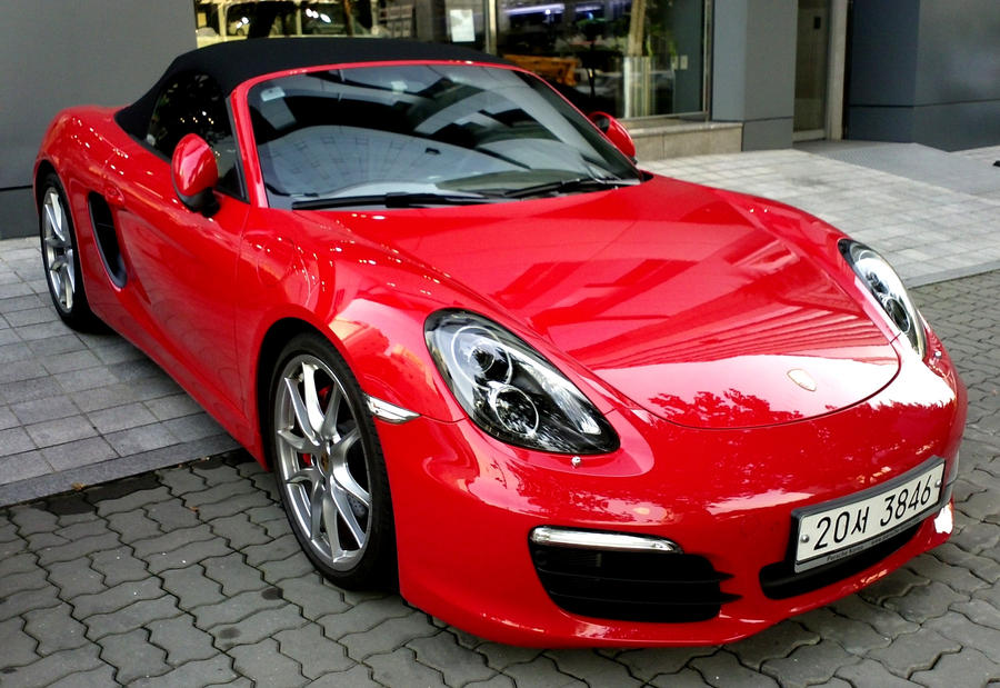 Red Porsche Car 2013 New 2013 Porsche Boxster s Red