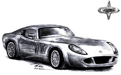 Marcos T50GT Exotic Super Coupe by toyonda