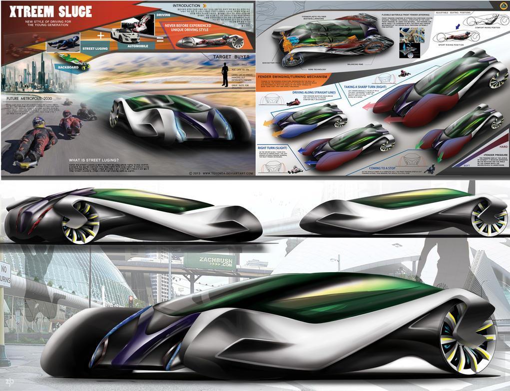 Lotus Xtreem Sluge Sports Vehicle Concept by toyonda