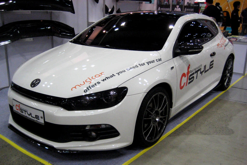 volkswagen scirocco r tuned by cf style by toyonda on. Black Bedroom Furniture Sets. Home Design Ideas
