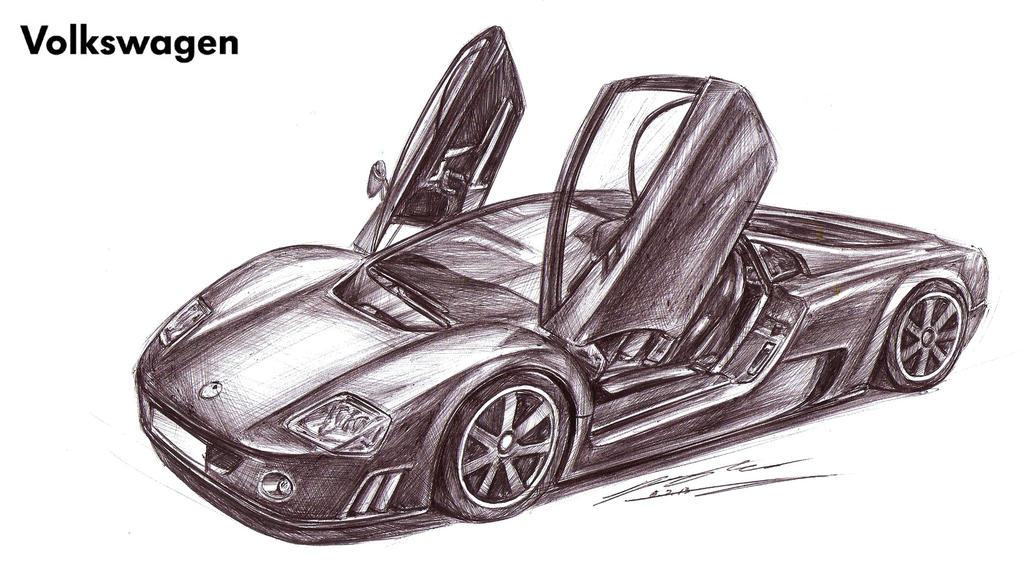 Volkswagen W12 Nardo Concept By Toyonda On Deviantart