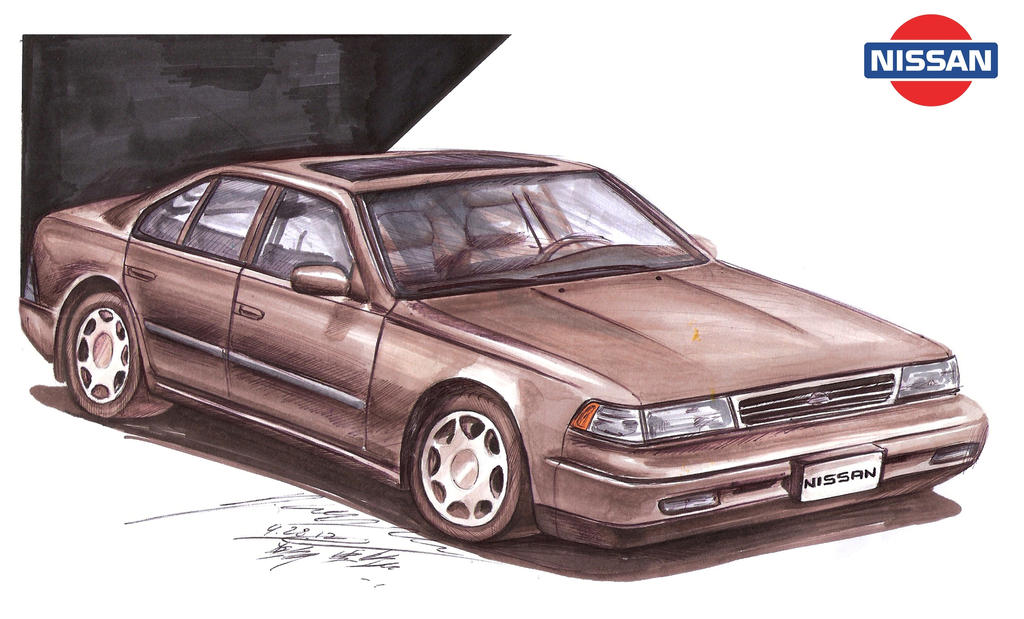 Nissan Maxima GXE Luxury Sedan by toyonda