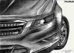 Ford Taurus Detail Drawing