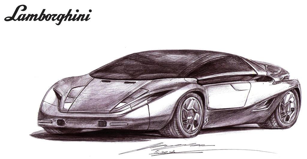 Forgotten Lamborghini by toyonda