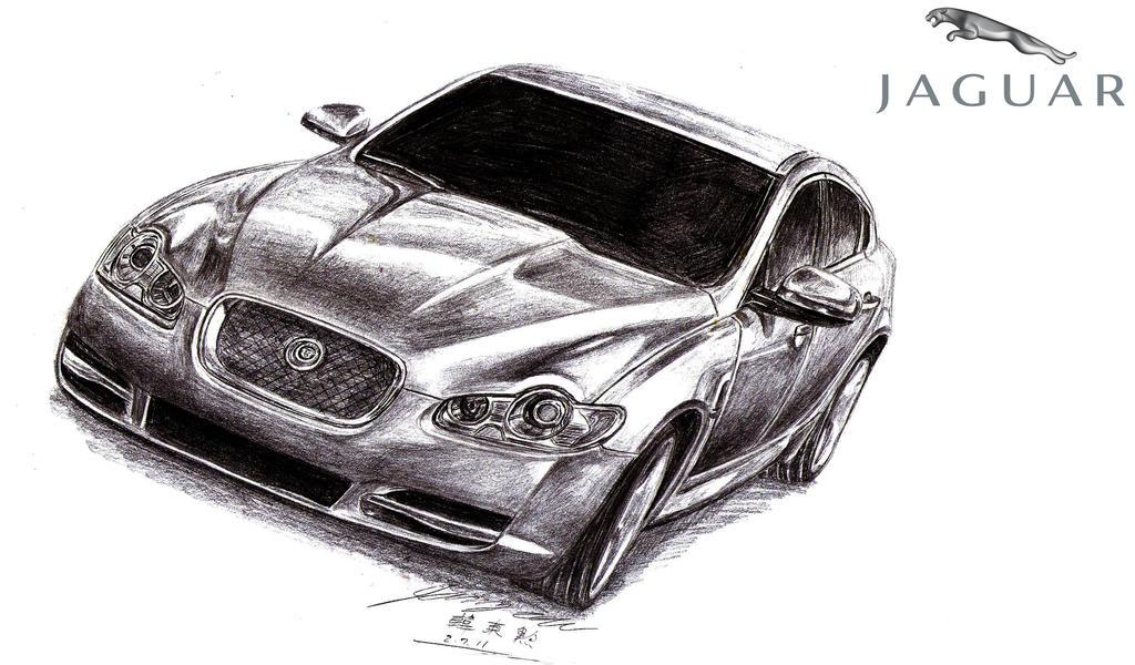 Jaguar Xfr Drawing By Toyonda On Deviantart