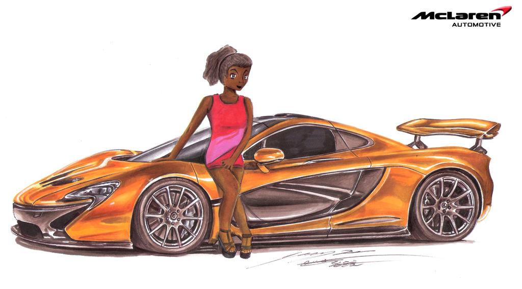 Mecca's Mclaren P1 $1.7 million Exotic Supercar by toyonda