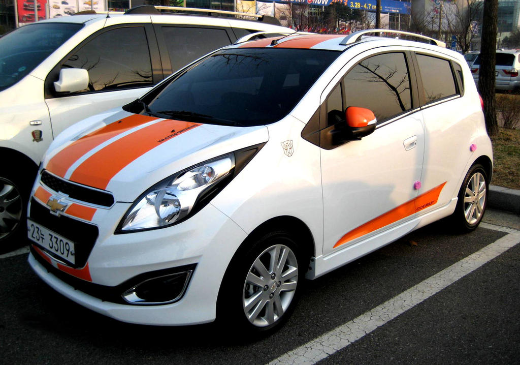 Chevrolet Spark Transformers Edition by toyonda on DeviantArt