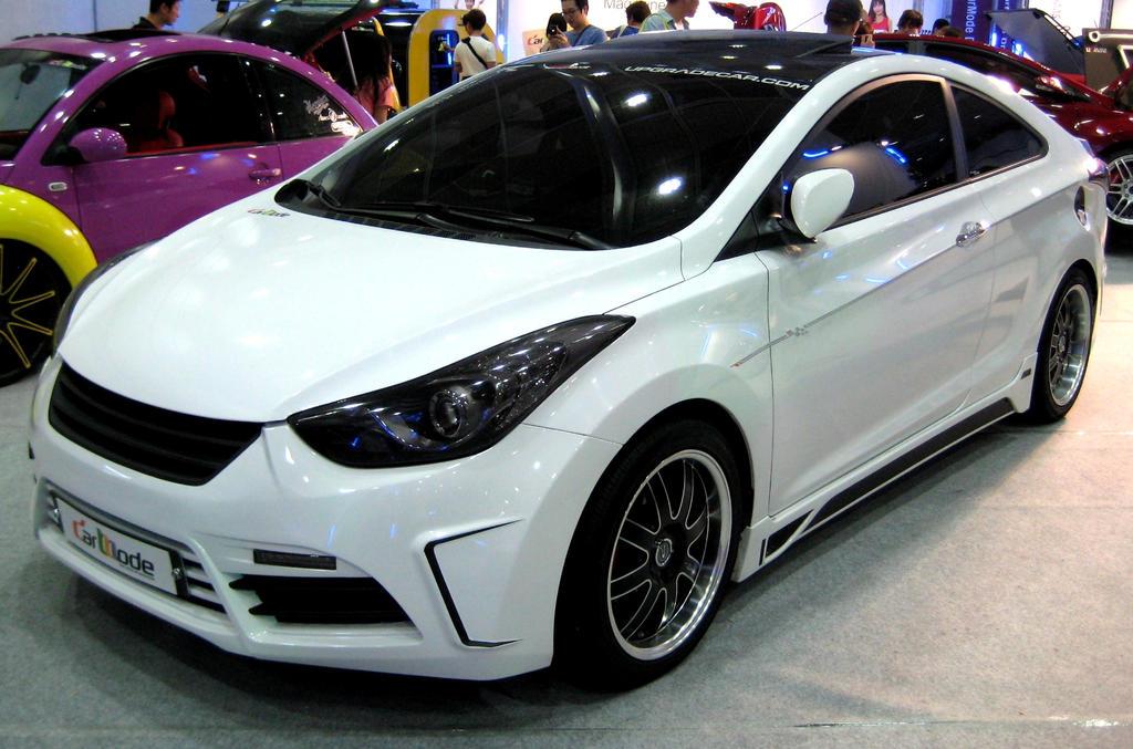 Elantra Coupe Turbo by toyonda on DeviantArt