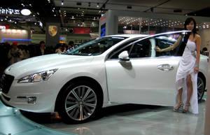 Peugeot 508 White Sedan by toyonda