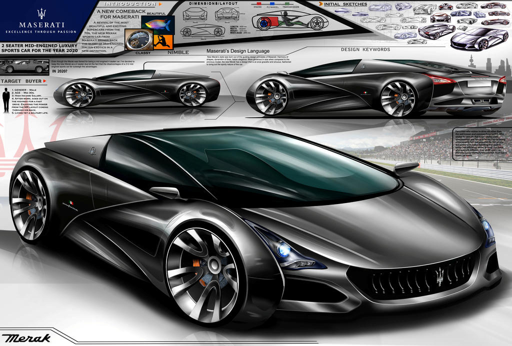 Maserati Merak Design Concept 2020 By Toyonda On Deviantart
